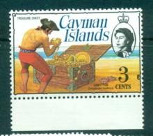 Cayman Is 1974-75 3c Pirate Treasure Chest Defin MUH Lot72532 - Cayman Islands