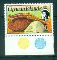 Cayman Is 1974-75 5c Pistol & Coral Defin MUH Lot72570 - Cayman Islands