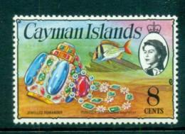 Cayman Is 1974-75 8c Jewels & Fish Defin MUH Lot72537 - Cayman Islands