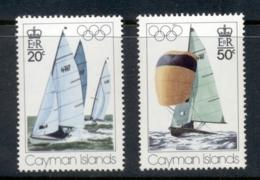 Cayman Is 1976 Summer Olympics Montreal, Yachts MUH - Cayman Islands