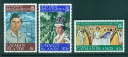 Cayman Is 1977 QEII 25th Reign Anniv. MUH Lot72562 - Cayman Islands