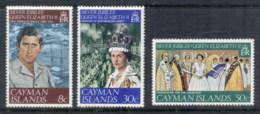 Cayman Is 1977 QEII Silver Jubilee MUH - Cayman Islands