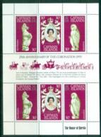 Cayman Is 1978 QEII Coronation, 25th Anniversary , Royalty MS MUH - Cayman Islands