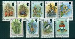 Cayman Is 1980 Flora & Fauna Defins Asst To $2 MUH Lot72588 - Cayman Islands
