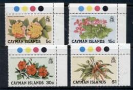 Cayman Is 1980 Flowers MUH - Cayman Islands