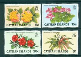 Cayman Is 1980 Flowers MUH Lot72587 - Cayman Islands