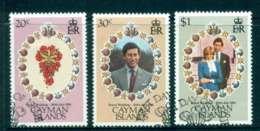 Cayman Is 1981 Charles & Diana Wedding Fu Lot44827 - Cayman Islands