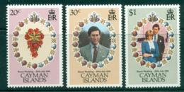 Cayman Is 1981 Charles & Diana Wedding MUH Lot30215 - Cayman Islands
