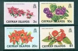 Cayman Is 1981 Flowers MUH Lot72595 - Cayman Islands