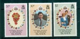 Cayman Is 1981 Royal Weddng, Charles & Diana MUH Lot72593 - Cayman Islands