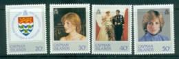 Cayman Is 1982 Princess Diana 21st Birthday MLH Lot81980 - Cayman Islands