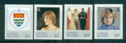 Cayman Is 1982 Princess Diana Birthday MUH Lot72597 - Cayman Islands