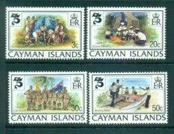 Cayman Is 1982 Scouting Year MUH Lot72598 - Cayman Islands