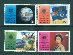 Cayman Is 1983 Commonwealth Day MUH Lot72603 - Cayman Islands