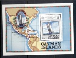Cayman Is 1984 Lloyd's List Ships MS MUH - Cayman Islands