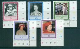 Cayman Is 1986 QEII 60th Birthday MUH Lot72615 - Cayman Islands