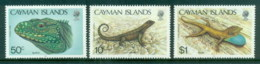 Cayman Is 1987 Lizards MUH - Cayman Islands