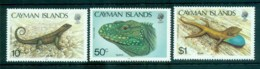 Cayman Is 1987 Lizards MUH Lot72623 - Cayman Islands