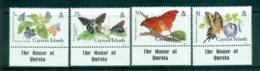Cayman Is 1988 Butterflies MUH Lot72628 - Cayman Islands