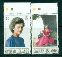 Cayman Is 1988 Visit Of Princess Alexandra MUH Lot72636 - Cayman Islands