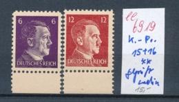 D.-Reich Propaganda Fälschung Geprüft Ludin **  (ee6919  ) Siehe Scan - Unused Stamps