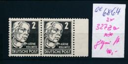 DDR  Nr. 2x 327 Za  ** Geprüft     (ee6864  ) Siehe Scan - [6] Oost-Duitsland