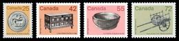 Canada (Scott No.1080-83 - Antiquité / Artifact) [**] - 1952-.... Règne D'Elizabeth II