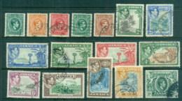 Jamaica 1938-51 KGVI Pictorials Asst To 10/- FU - Jamaica (1962-...)