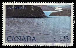 Canada (Scott No.1084 - La St-Maurice / River) (o) - 1952-.... Règne D'Elizabeth II