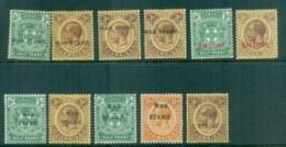 Jamaica 1961-18 War Tax Asst MLH Lot81191 - Jamaica (1962-...)