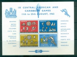 Jamaica 1962 Central American & Caribbean Games MS MUH Lot81200 - Jamaica (1962-...)
