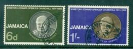 Jamaica 1966 Winston Churchill FU - Jamaica (1962-...)
