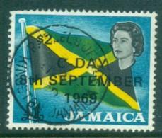 Jamaica 1969 Flag Opt C-Day FU - Jamaica (1962-...)