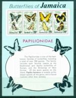 Jamaica 1975 Butterflies MS MUH - Jamaica (1962-...)