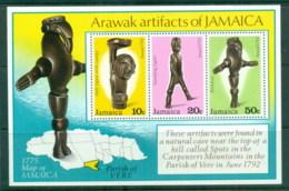Jamaica 1978 Arawak Artifacts MS MUH - Jamaica (1962-...)