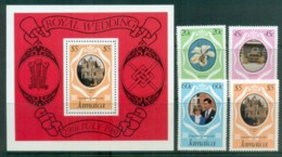 Jamaica 1981 Charles & Diana Royal Wedding + MS MUH Lot81865 - Jamaica (1962-...)