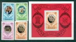 Jamaica 1981 Charles & Diana Wedding + MS MUH Lot45042 - Jamaica (1962-...)