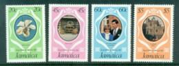 Jamaica 1981 Royal Wedding, Charles & Diana MUH - Jamaica (1962-...)