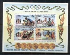 Jamaica 1984 Summer Olympics MS MUH - Jamaica (1962-...)