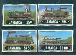 Jamaica 1984 Trains MUH Lot51959 - Jamaica (1962-...)