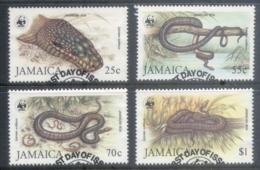 Jamaica 1984 WWF Jamaican Boa FU - Jamaica (1962-...)