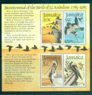 Jamaica 1985 Audubon Birds MS MUH - Jamaica (1962-...)