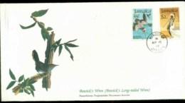 Jamaica 1985 Audubon Birds,  Franlkin Mint FDC Lot79648 - Jamaica (1962-...)