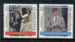 Jamaica 1986 Royal Wedding Andrew & Sarah MUH - Jamaica (1962-...)