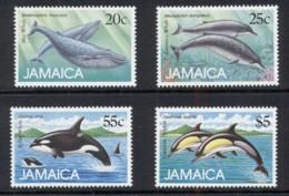 Jamaica 1988 Marine Mammals, Whales MUH - Jamaica (1962-...)