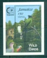 Jamaica 1995 Birds, Streamertail Opt Singapore '95 MS MUH - Jamaica (1962-...)