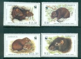 Jamaica 1996 WWF Hutia MUH Lot64051 - Jamaica (1962-...)