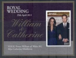 Jamaica 2011 Royal Wedding William & Kate MS MUH - Jamaica (1962-...)