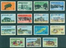 Anguilla 1969 Pictorials Opt Independence MUH - Anguilla (1968-...)