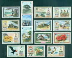 Anguilla 1972-75 Pictorials To $5 MUH - Anguilla (1968-...)
